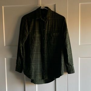 Madewell Oversized Button Down Flannel - XXS